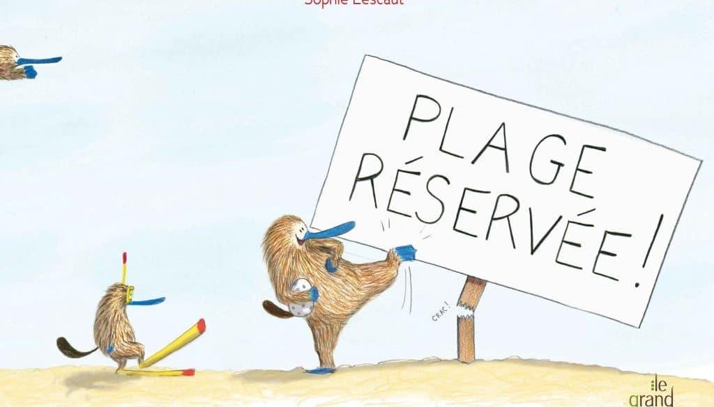 Plage réservée