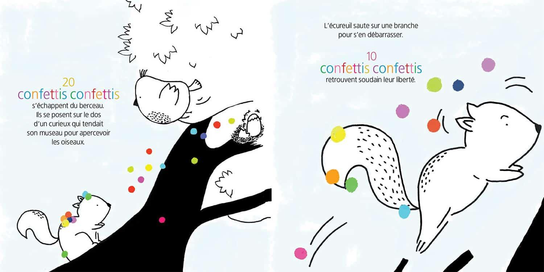 Confettis confettis planche 10